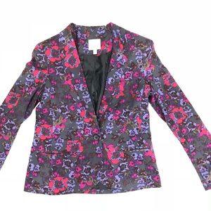 Silence and Noise Floral Sz Med Jacket Blazer
